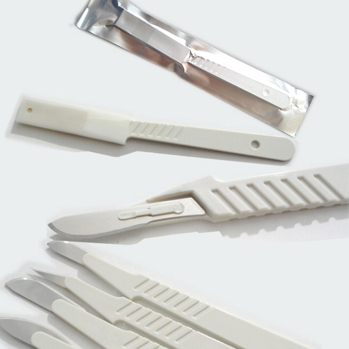 一次性无菌解剖刀(塑料柄)