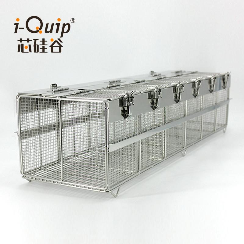 不锈钢仓鼠笼,6栅联排
